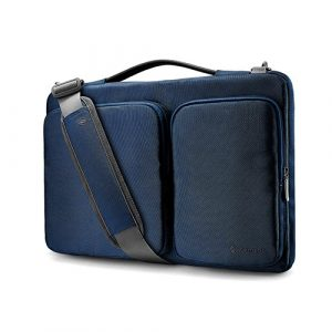 TÚI ĐEO TOMTOC (USA) 360* SHOULDER BAGS MACBOOK 13″ DARK BLUE