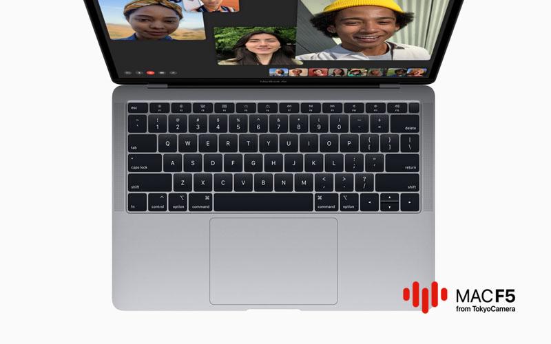 Âm thanh chân thực trên MacBook Air 13-inch 2018