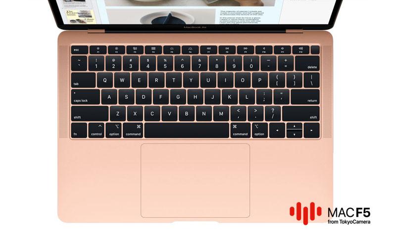 Bàn phím MacBook Air mới sử dụng cơ chế cánh bướm
