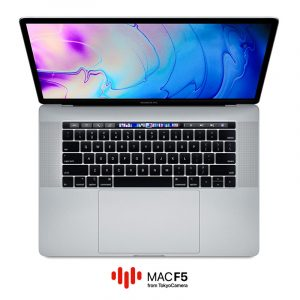 MacBook Pro 15-inch Touch Bar 2018 Silver - MR962 MR972 - 1
