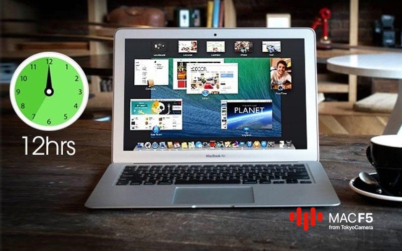 MacBook Air 13-inch 2016 trang bị viên pin lên đến 12 giờ sử dụng